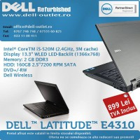 Laptop-uri si calculatoare DELL acum si cu plata in 6 rate fara dobanda