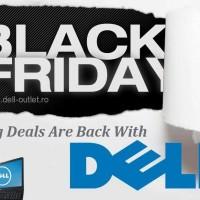 Magazinul online Dell Outlet s-a pregatit pentru Black Friday