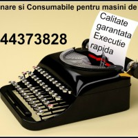 Depanare si consumabile ptr.masini de scris mecanice si electrice.