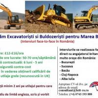 Excavatoristi si Buldozeristi in Anglia