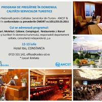 Constanta - Training calitatea serviciilor Turistice